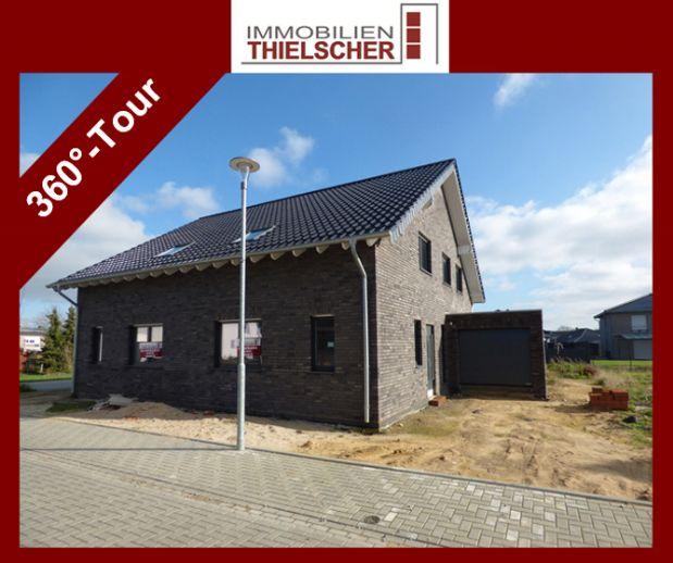 Neuerrichtete rechte Doppelhaushälfte mit Garage in Geilenkirchen-Teveren- Provisionsfrei!