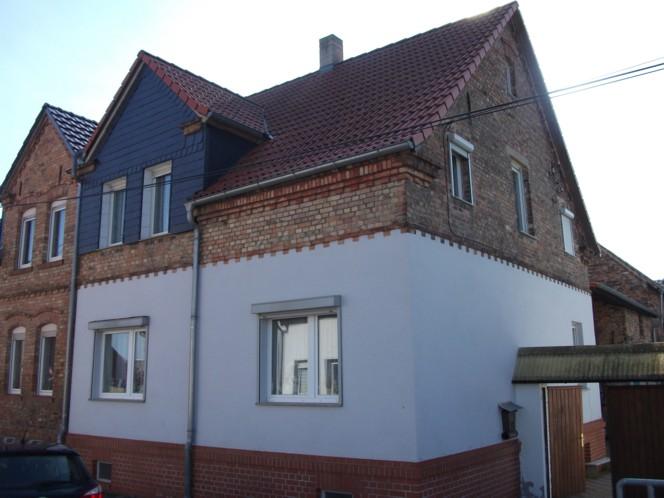 Doppelhaushälfte in Erdeborn