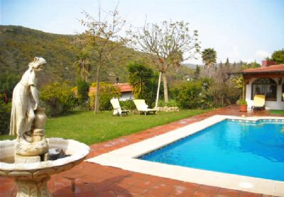 Finca La Ladera *** Finca mit Wintergarten, privatem Pool und Sauna nahe Gibraltar und Marbella