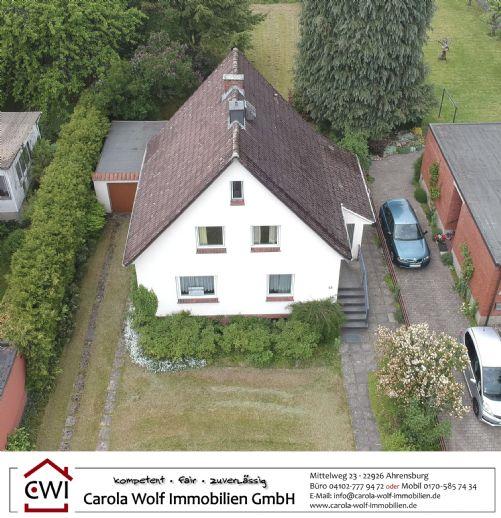 *Neuer Preis!* Süßes EFH mit 4,5 Zimmern mit Anbaupotential auf uneinsehbarem, großem Grundstück