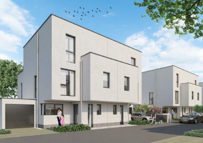 Für den gehobenen Anspruch: Stilvolles Doppelhaus im KfW55-Standard