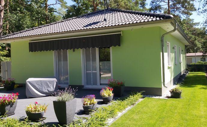 Neubau-Bungalow in wunderschöner Waldlage