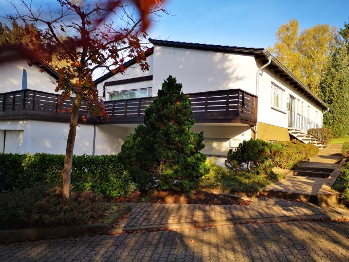 schicke und großzügige Wohnung mit 2 großen Terrassen,Garten und offenem Kamin innen und außen