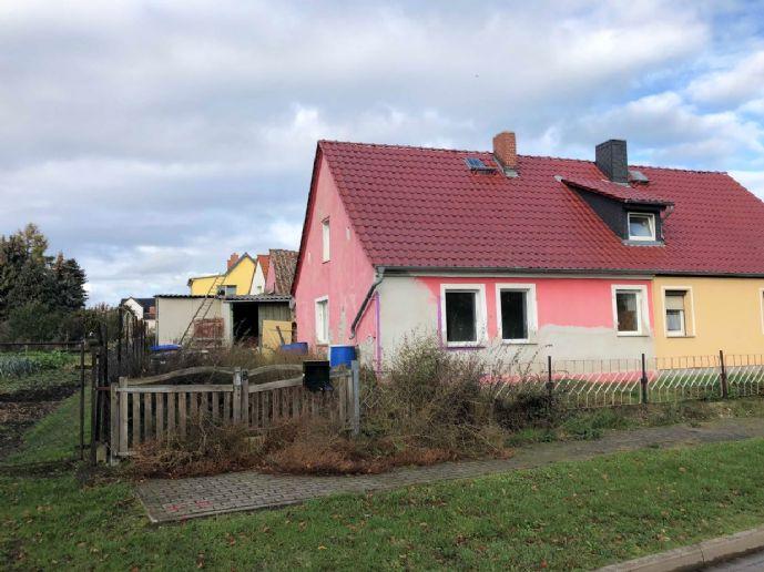 Doppelhaushälfte in Eichenbarleben zu verkaufen!