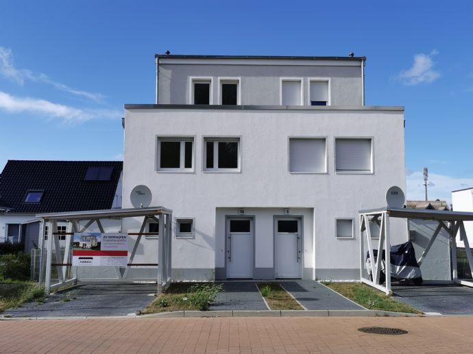 Moderne Kfw55-Doppelhaushälfte mit Ostseeblick, Erdwärme und Kühlregister
