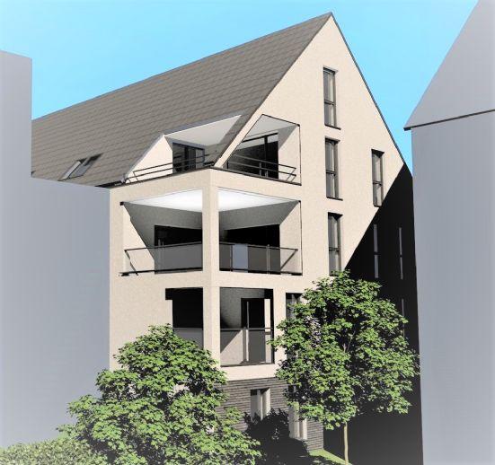 Neubau: Schicke und individuelle 3,5-Zi.-Maisonette im Kirchheimer Steingauquartier (im Bau befindlich)