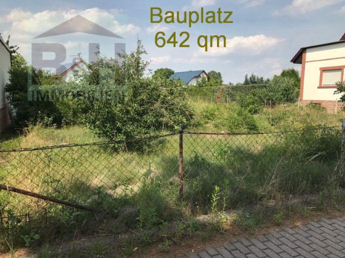 Hübscher Lückenbauplatz bei Zörbig in Großzöberitz in beliebter Wohnlage