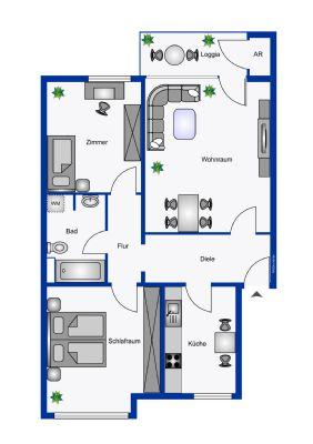 Neuss Wohnungen, Neuss Wohnung kaufen