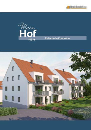 MAINHOF 14/16 ERLABRUNN- Attraktive Erdgeschosswohnung mit Terrasse - Whg. C2