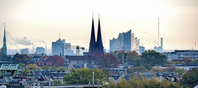 Endetage mit traumhaftem Ausblick über Hamburg