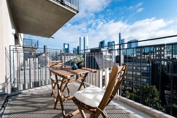 Diese Wohnung wird Ihnen gefallen! Neubau, komplett möbliert, EBK, Balkon im 6. Stock 1-Raum-Wohnun
