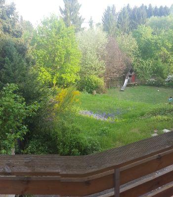 Balkon - Blick richtung Garten 2