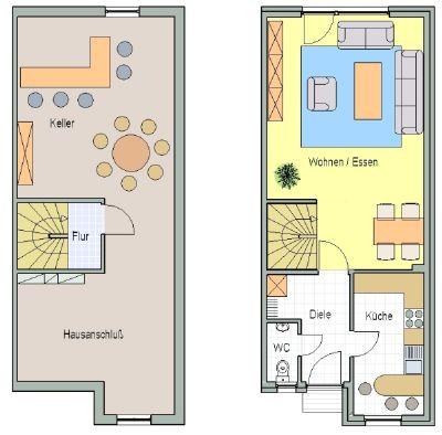 neubau einfamilienhaus haus 5 mit vollkeller in byfang im bau reihenmittelhaus essen 2g43b4z. Black Bedroom Furniture Sets. Home Design Ideas