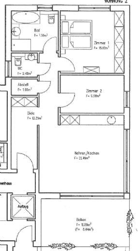 Erstbezug: 84 m² 3 Zi. -Wohg. Neubau in Kassel-Harleshausen mit großem Balkon, barrierefrei, ruhige Lage