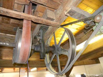 Die Technik im Mühlengebäude
