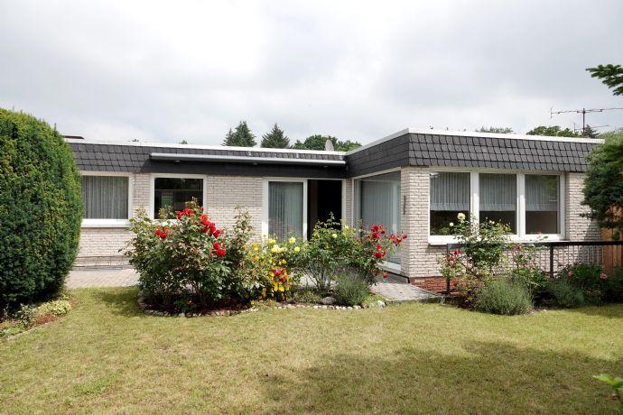 Ebenerdig & ruhig wohnen im schicken Bungalow mit uneinsehbarem Garten - Nähe Misburger Wald