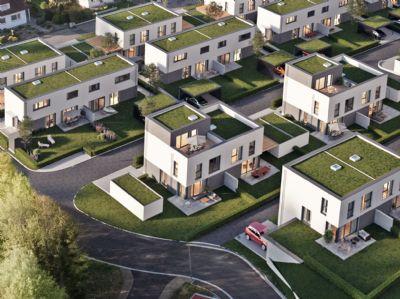 DHH Typ Gallery mit Garten und Dachterrasse - KfW55 (DHH 9)