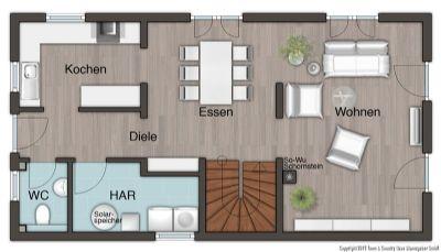 Erdgeschoss-Varainte
