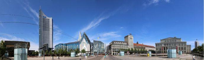 Fertig beplantes / projektiertes Wohngrundstück in Leipzig