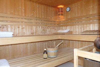 Integrierte Sauna