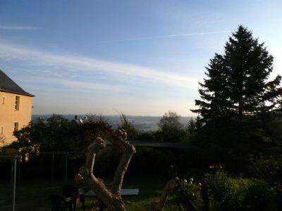Ausblick vom Garten aus