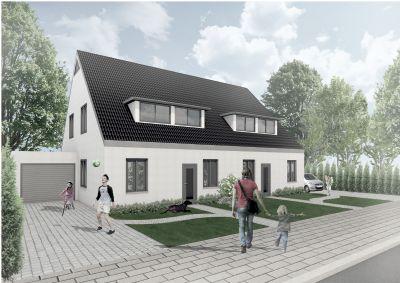 NEUBAU - ERSTBEZUG - Attraktive Doppelhaushälfte in Achim-Badenermoor zur Miete