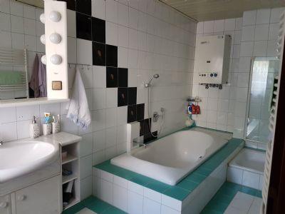Bad mit Dusche EG