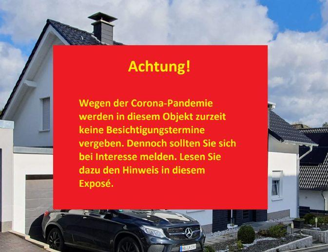 Fast neues Einfamilienhaus mit Terrasse, Garten und Garage in Hagen/Westf.