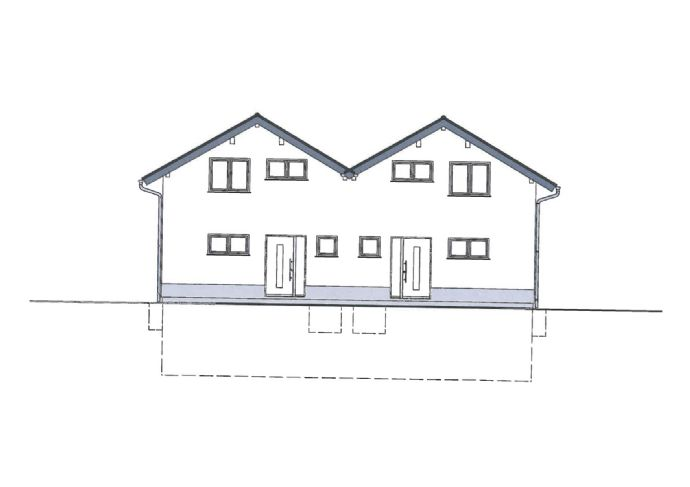 (2 von 2 DHH frei) Nie wieder Miete zahlen in Ihrer eigenen Neubau-DHH mit 112m² Wohnfläche
