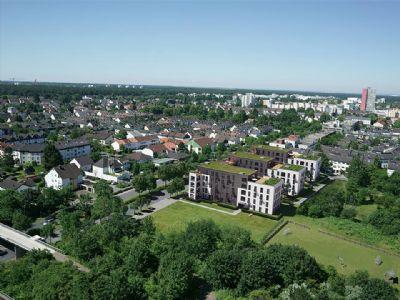 IN 18 MINUTEN AM MAIN! 4-Zimmer-Wohnung auf ca. 113 m² mit Loggia in verkehrsgünstiger Lage