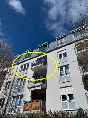 Hochwertige 4-Zimmer-Wohnung mit Süd-Balkon, München Bogenhausen / Oberföhring, 3.Stock nach ausschließl. Nutzung durch Eigentümer zu verkaufen.