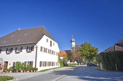 Idyllisches Grasbrunn