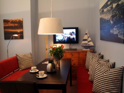 Seeteufel Apartments - Dünenrose - Südseite