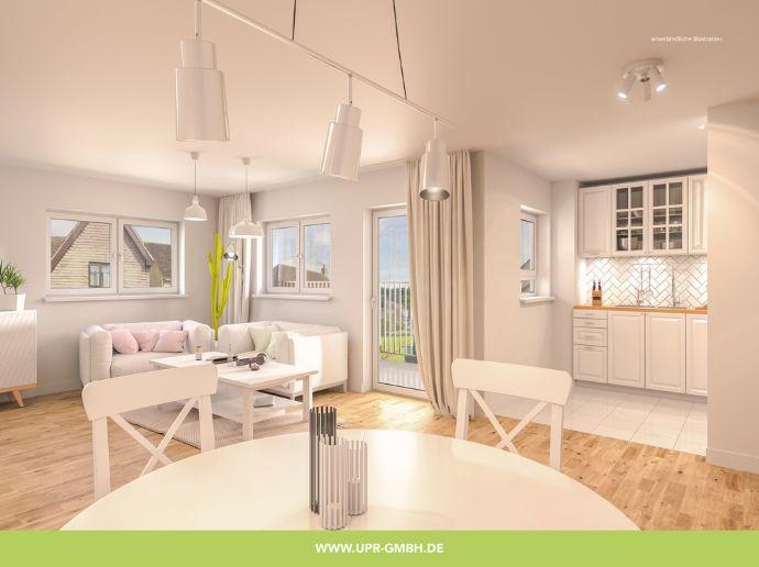 Große 4- Zimmer Familienwohnung mit Balkon freut sich auf große & kleine Bewohner
