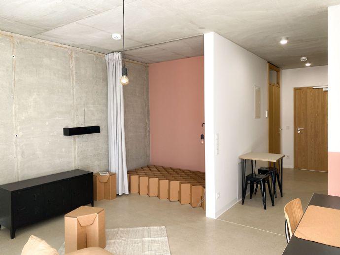 1-Raum-Apartment // ab November // MY HUB 6 // Teil-/vollmöbliert // Erstbezug // Uniplatz MLU