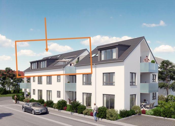 Außergewöhnliche Dachgeschoßwohnung mit großer Terrasse