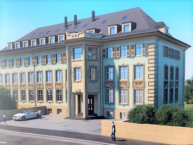 MFH mit 18 Eigentumswohnungen im expressionistischen Einzeldenkmal - CARL FRIEDRICH GAUSS - in Chemnitz-Siegmar