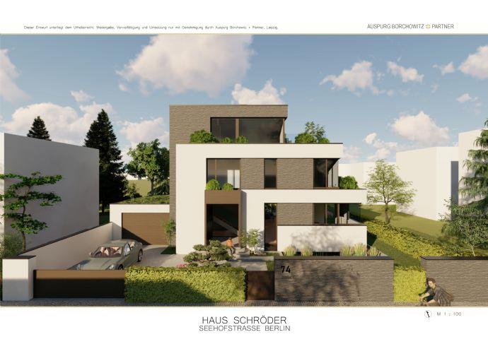 Jenseits der Konventionen Wohnen - schlanke Bauhausvilla in Ruhiglage
