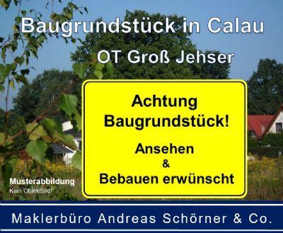 Baugrundstück in Calau - OT Groß Jehser