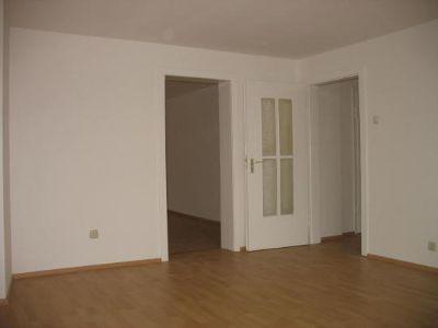 Blick vom Wohn- Schlafzimmer