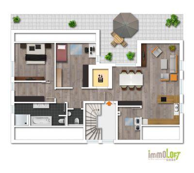 Exklusive penthouse wohnung mit weitblick penthouse for Wohnung mieten bad salzuflen