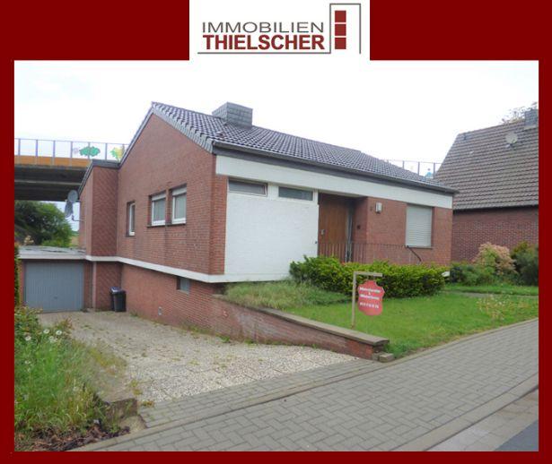 Bezugsfrei! Freistehendes Einfamilienhaus mit großer Garage in Heinsberg-Demmen