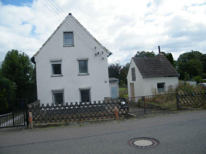 Kleines Einfamilienhaus in Meineweh zu