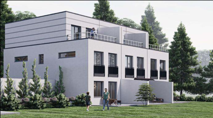 KfW-55-Effizienzhaus || Neubau-Dreispänner 2. BA mit Penthouse in Straubing-Stutzwinkel