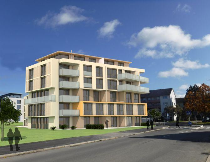 Erstbezug: 4-Zimmer Wohnung 114qm im Neubau CAMPUS AM REMISHOF in der Singener Nordstadt mit Blick a