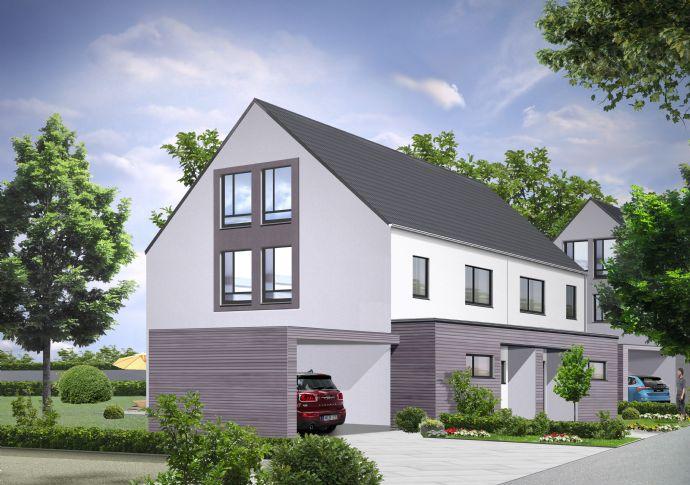 166 m² Wohnfläche: Doppelhaushälfte für die große Familie