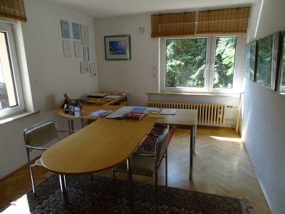 Arbeitszimmer EG mit Echtholzeichenparkett