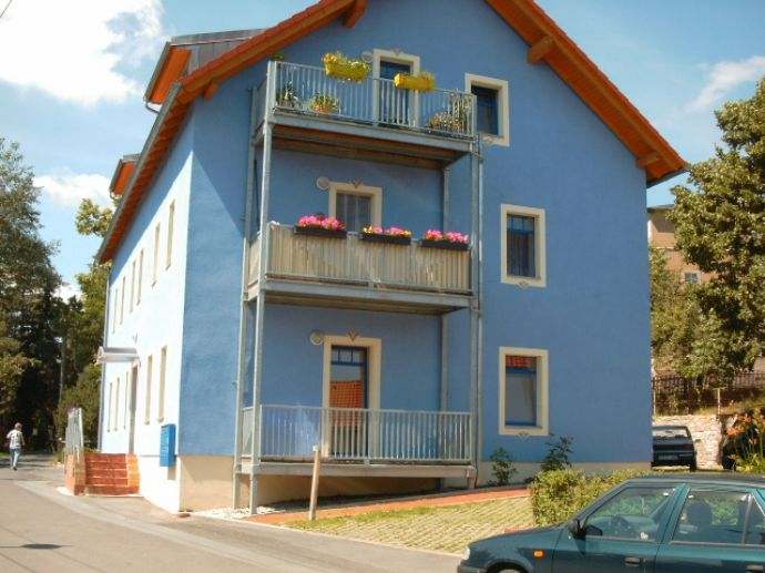 2 RW - DG mit tollem Ausblick und großem Balkon, idyllisch gelegen - Wurgwitz