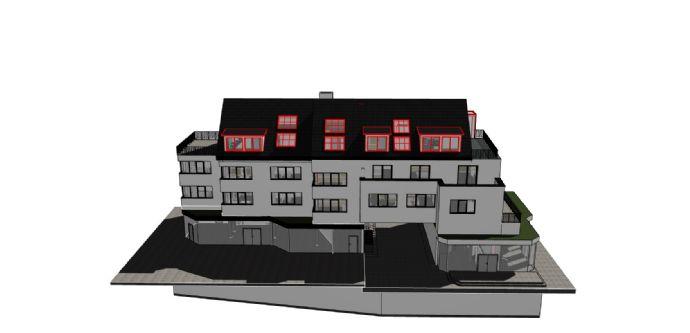 Trier- Viehmarktplatz ( Neubau/ Erstbezug) attraktive 2-Zimmer-Wohnung Teilmöbliert zu vermieten. Wohnhaus mit mehreren Wohnungen von 2 bis 3 Zimmer.