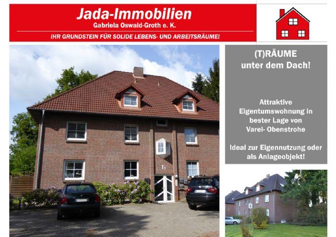 (T)Räume unter dem Dach! Attraktive Dachgeschosswohnung in sehr guter Lage von Varel- Obenstrohe!